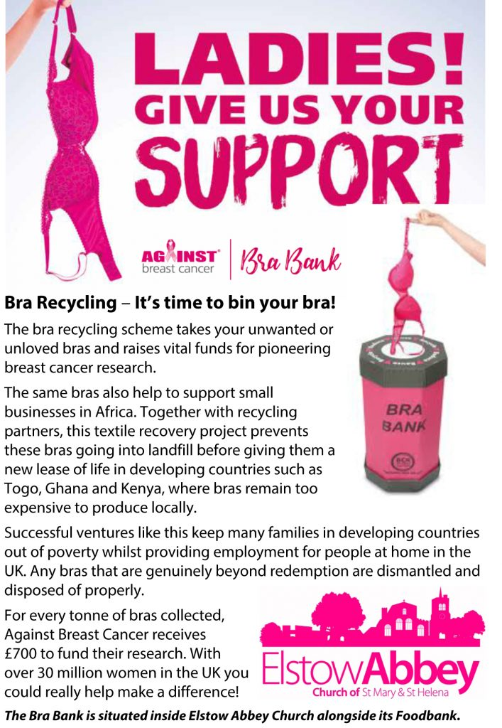 Bra-Recycling