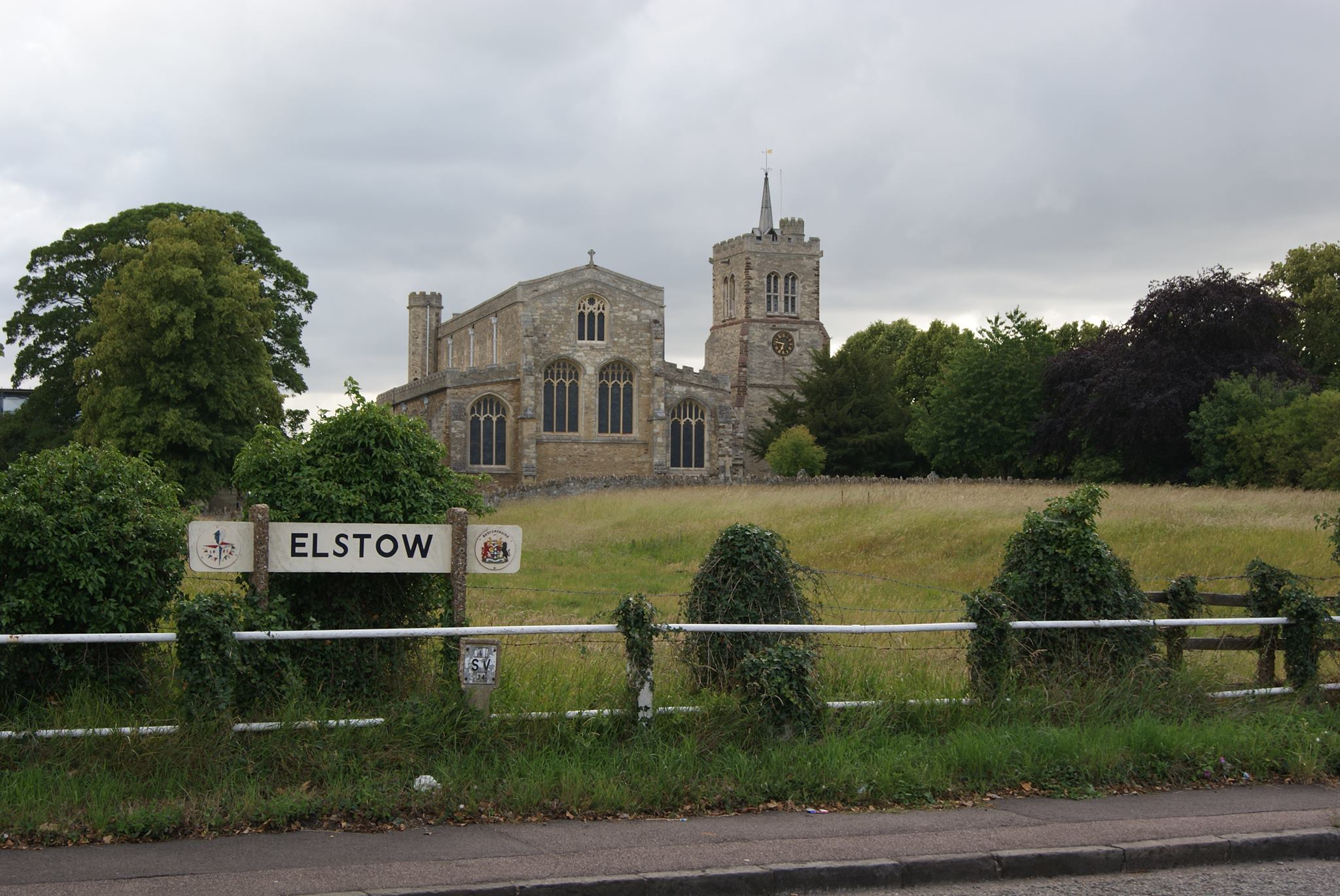 Elstow Abbey from the High Street